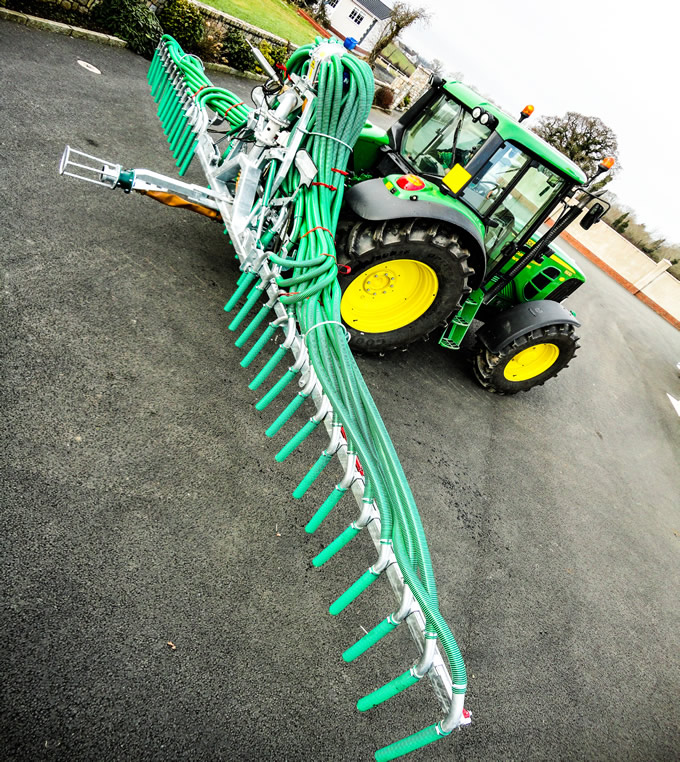 10.5metre Dribble Bar. Standard Slurry Dribble Bars from SlurryKat Engineering Ltd