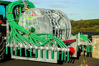 Slurry Dribble Bars. SlurryKat 9mtr Dribble Bar System.