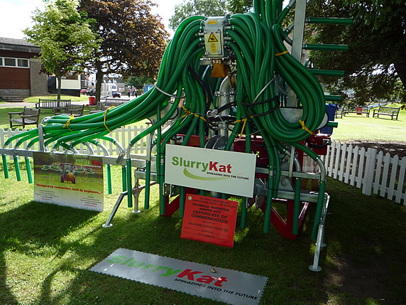 SlurryKats Award Winning Machine at the Royal Highland Show.