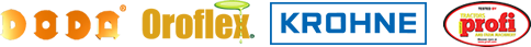 Doda Oroflex and Krohne Products Logos