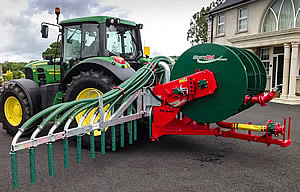 Combi Reeler from SlurryKat Engineering Ltd. Umbilical Slurry Systems.
