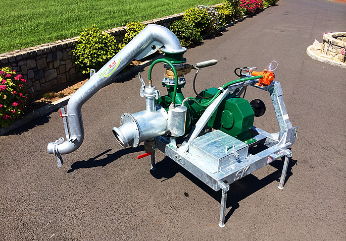 Doda Pumping Systems Uk. Doda PTO version with 300° swivel outlet.