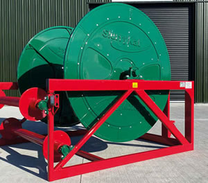 1200m Mounted Reeler complete with A-Frame by SlurryKat Engineering Ltd.