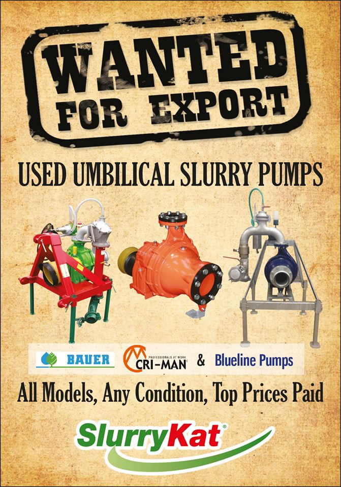 Used Slurry Pumps Wanted