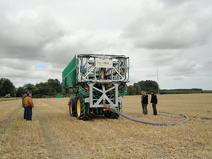 Field Demonstration, Driffield North Yorkshire, SlurryKat Tankers