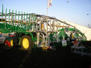 Slurry Dribble bar on display at the National Irish Ploughing Championships