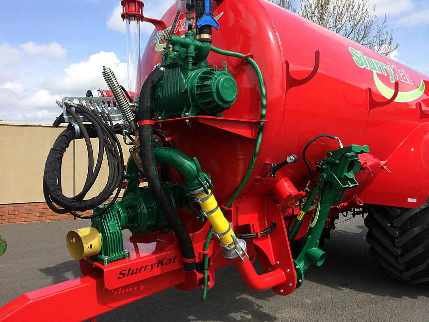 slurry tankers with Doda pumps