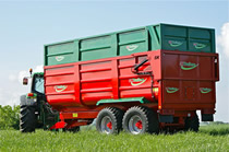 Silage Trailers UK. View our SK Proline Silage Trailer Range