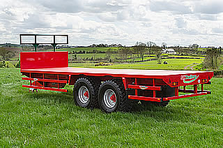SK Flatbed Trailers - SlurryKat Farm Trailers UK