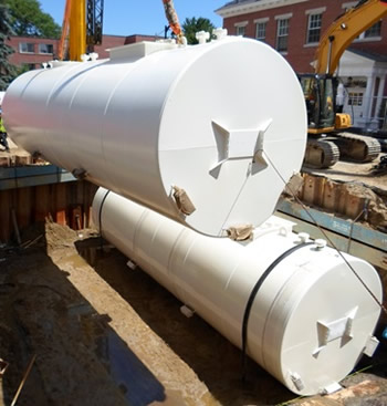 Under Ground Steel Storage Tanks