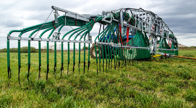 24metre Swing Up Dribble Bar. Slurry Spreading equipment UK from SlurryKat Engineering Ltd.