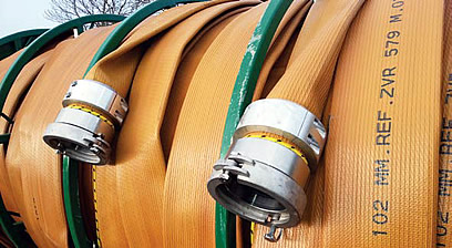 swivel hose couplings for slurry