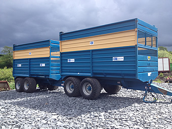 Kane 11 Tonne Silage Trailers for Sale
