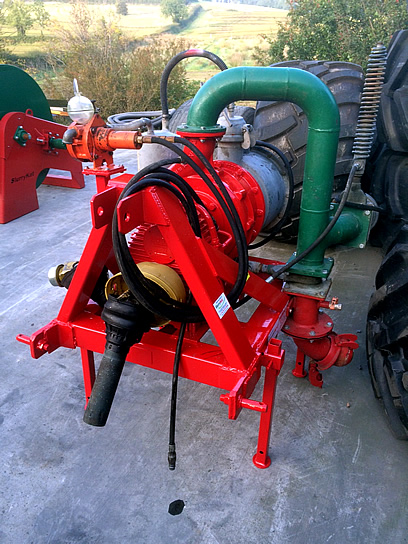 2011 Doda HD 35 Pump Fully Reconditioned