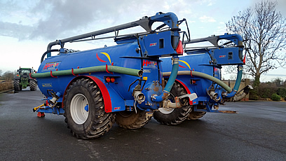 Used Herron Slurry Tankers for Sale