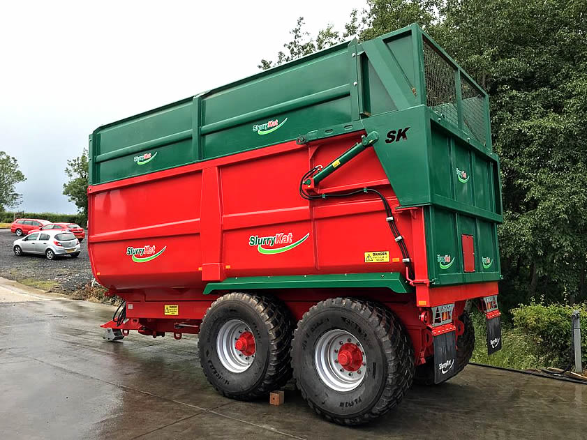 2016 slurrykat silage trailer for sale