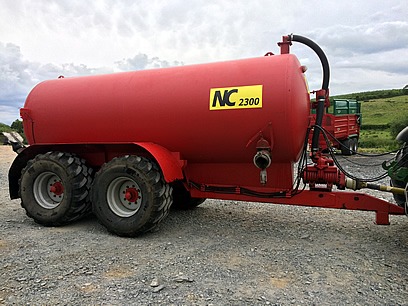 nc slurry tanker for sale 2300 gallon