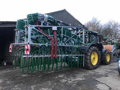 slurrykat 24m dribble bar in transit