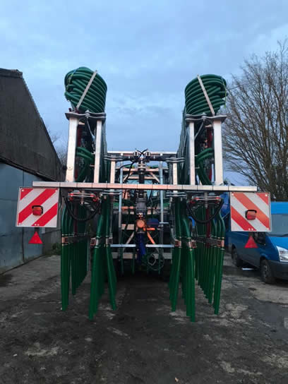 slurrykat 24m dribble bar rear view