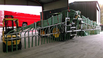 SlurryKat EX-Demo 12m Compax Dribble Bar open 2