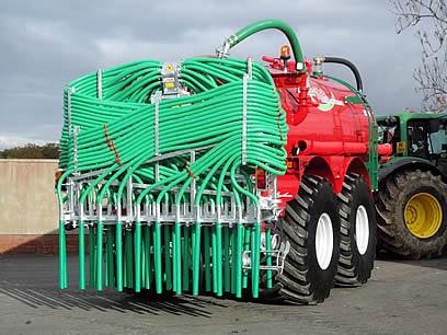 SlurryKat EX-Demo 12m Compax Dribble Bar side
