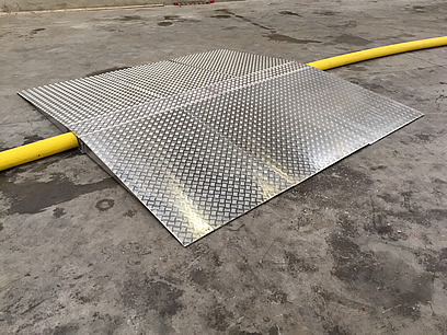 Aluminium Hose Crossing Ramps