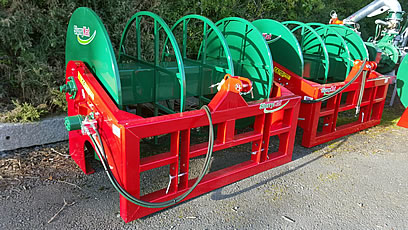 New/Unused Ex Show Display Stock SlurryKat 600m Front Reeler (choice of 2)