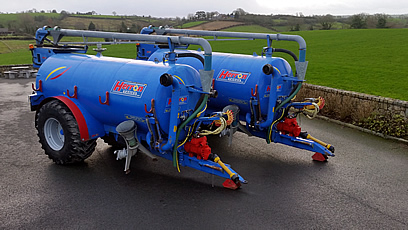 2012 Herron Slurry Tankers for Sale - Choice of Two