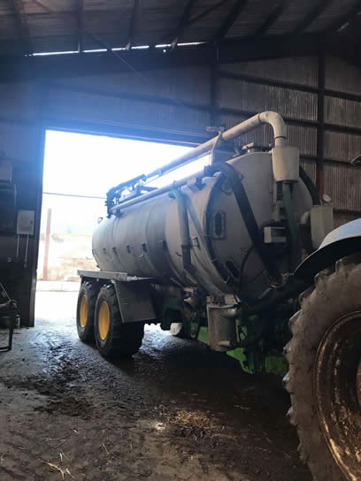 used joskin 4000 gallon tanker for sale
