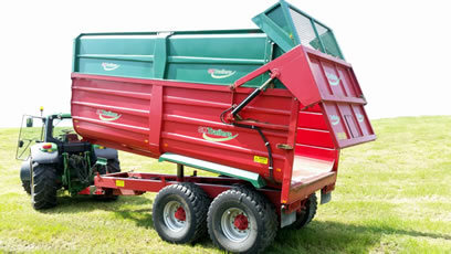 2013 silage trailer