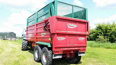 2013 silage trailer for sale