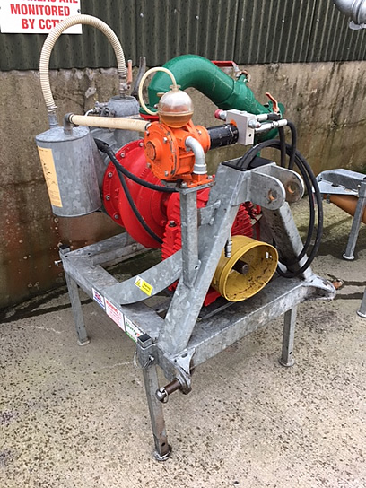 2014 doda hd35 pump fully reconditioned