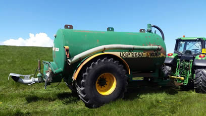 2050 gallon major slurry tanker for sale