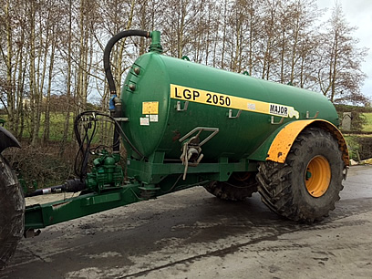 major slurry tanker for sale