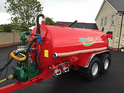 new slurrykat 3750 gallon tanker