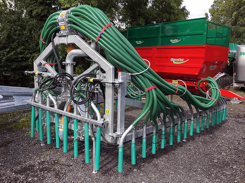 new slurrykat 12m dribble bar for sale