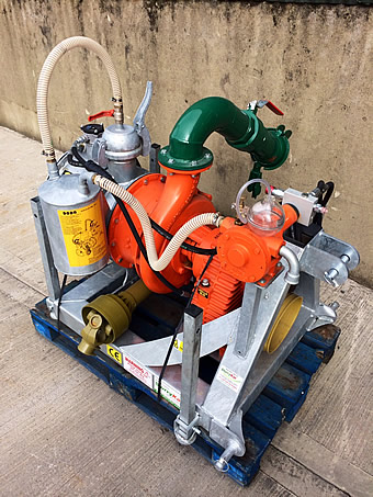 Doda HD35 Slurry Pump for Sale - New Unused - Slight Paint Damage