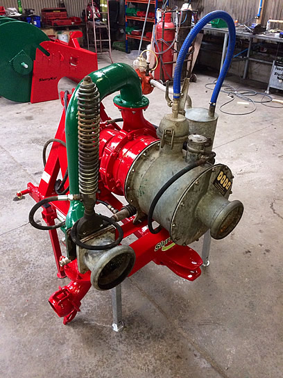 2010 Doda HD 35 pump for sale - Ready for work