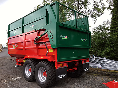 slurrykat 12 ton silage trailer for sale
