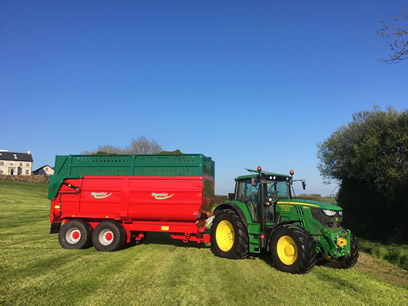 pro line silage trailers for sale