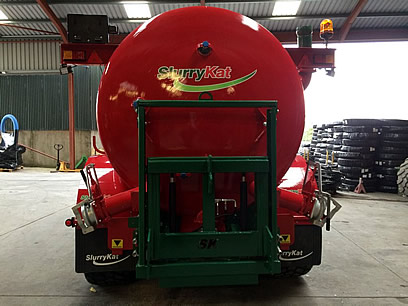 SlurryKat 16000L / 3500 Gallon Slurry Tanker - Rear View