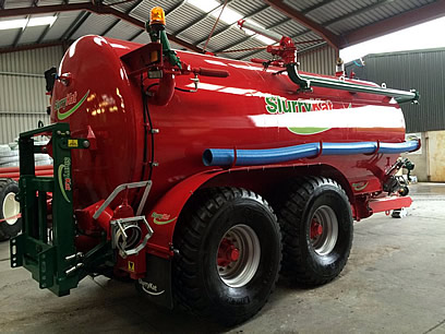 3500 Gallon Slurry Tanker For Sale