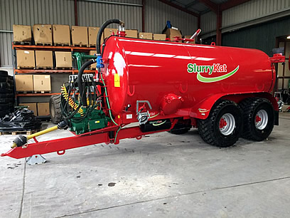 New / Unused SlurryKat 16000L / 3500 Gallon Slurry Tanker