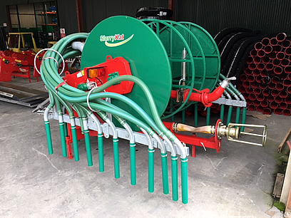 slurrykat 600m combi and dribble bar for sale