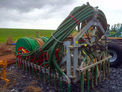 2014 SlurryKat 9 metre Dribble Bar for Sale