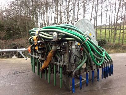 October 2014 SlurryKat 1000m Bak-Pak For Sale with Oroflex Hose