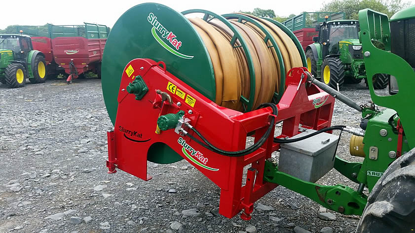 Slurrykat front reeler for sale