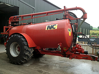 2006 NC 2000 Gallon Slurry Tanker For Sale UK