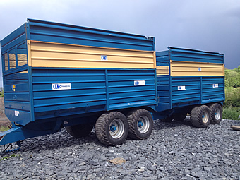 2007 Kane Silage Trailers for Sale
