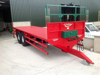 Used Bale Trailer For Sale - Sept 2013 Ex Demo Trailer